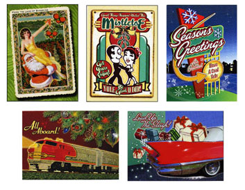 (5) Group of Holiday Cards
