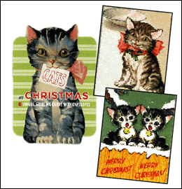 Cats & Dogs at Christmas Cards