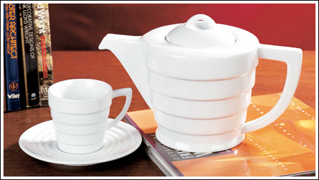 Guggenheim Tea Set