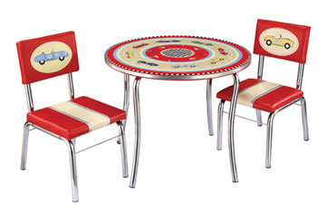 Retro Racer Table and Chair Set