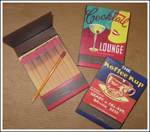 Koffee Kup & Cocktail Lounge Notepads