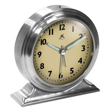 Retro Nickel Alarm Clock