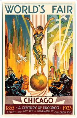 Chicago 1933 World's Fair Poster