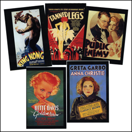 Classic Movie Poster Postcards