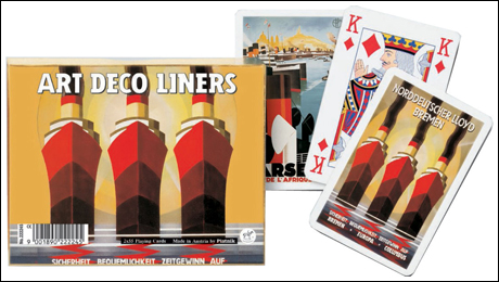Ocean Liners Playing Cards