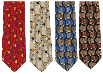 Frank Lloyd Wright Confetti & Gate Ties