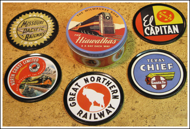 Vintage Travel Coasters
